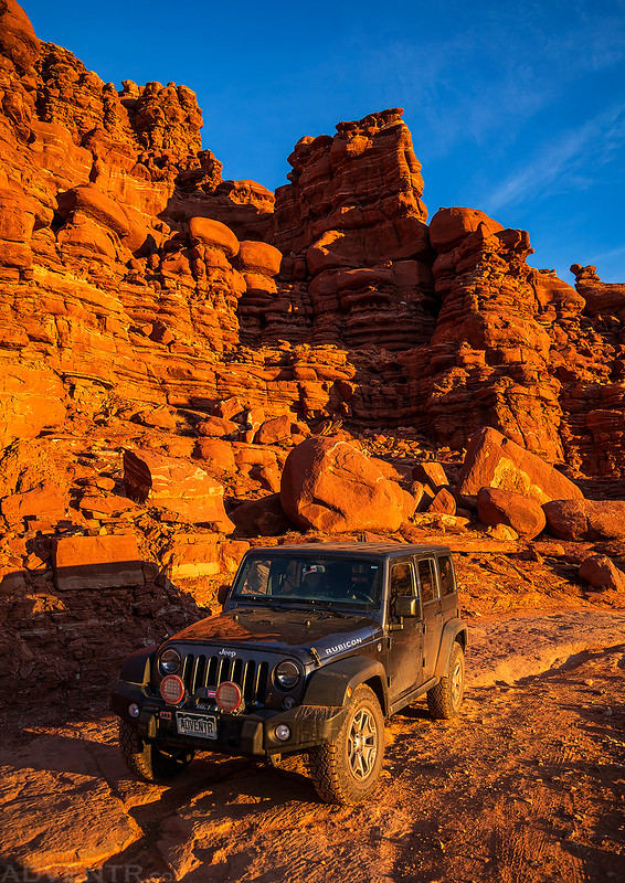 Golden Hour Jeep
