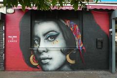 Villana + Zabou graffiti, Shoreditch