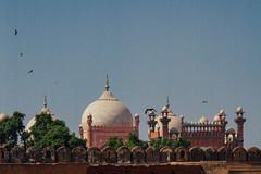 Badshahi Mosque from Lahore Fort, Lahore Pakistan
