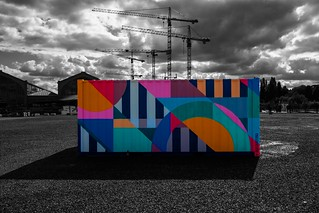 colourful container