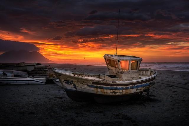 Colores de amanecer.