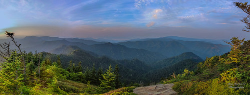 green gsmnp greatsmokymountainsnationalpark sky mountains panorama vista scenery landscape travel destination spectacularview vacation