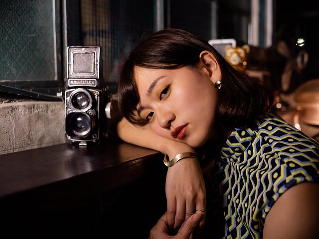 Minolta AF 50mm f1.7 老二花廳旗袍寫真