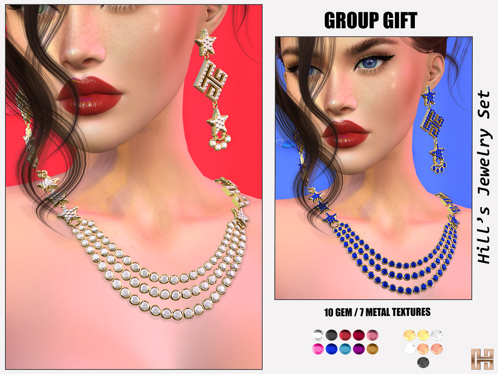 Hilly Haalan – GROUP GIFT Hill's Jewelry Set