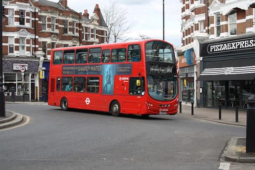 Arriva London DW287 LJ59LWP