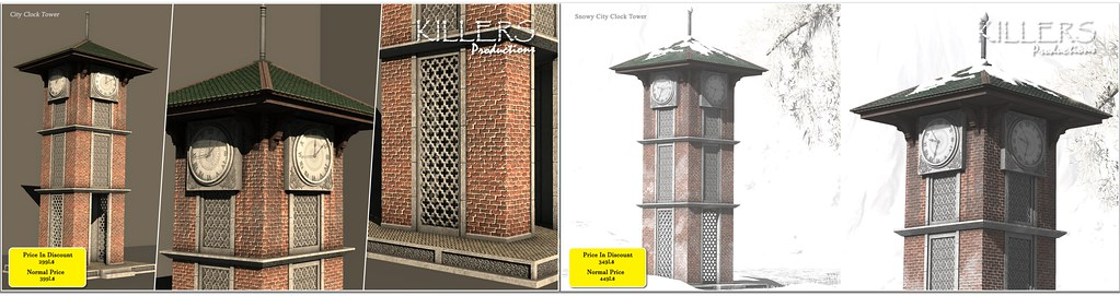 """Killer's"" City Clock Tower Snow & Non-Snow On Discount @ Cosmo Starts from 28th December"