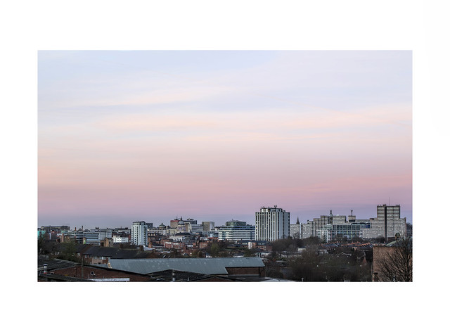 Nottingham City Skyline..life's not always a beach