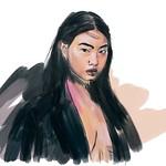 Hoyeon Jung Art Portrait