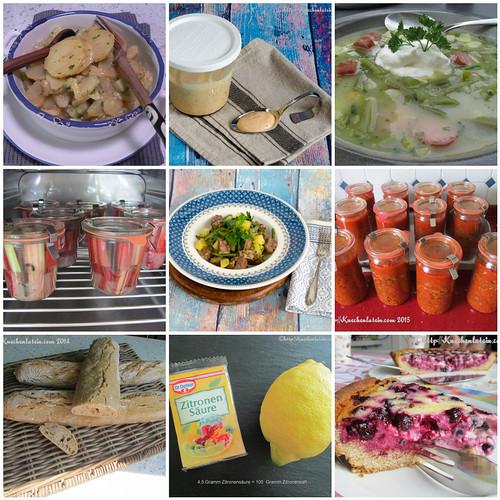 Foodblogbilanz Best Nine Blogbeiträge 2020 bei Küchenlatein