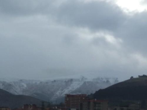 Ganekogorta nevado