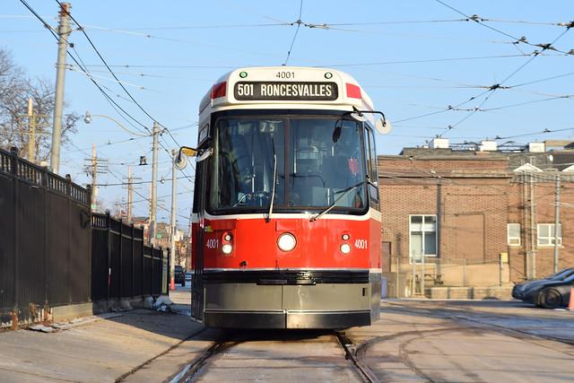 Toronto Transit Commission 4001