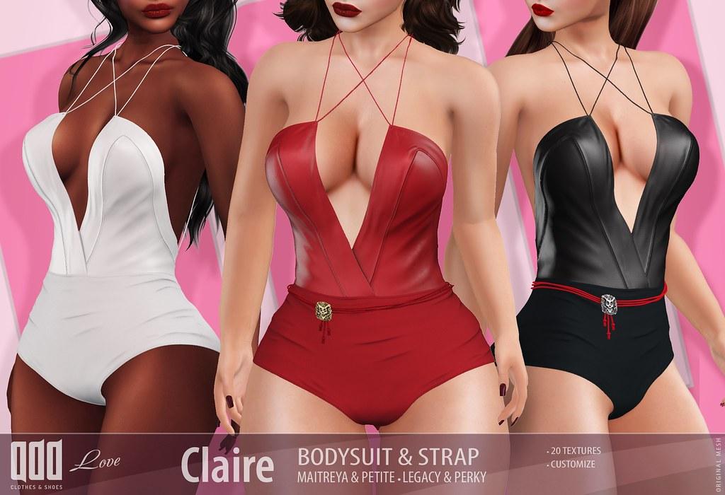 [ADD] Claire bodysuit