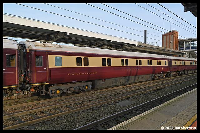 No 10729 CREWE Mk3 SLE Maroon/Cream 16th Dec 2020 Ipswich