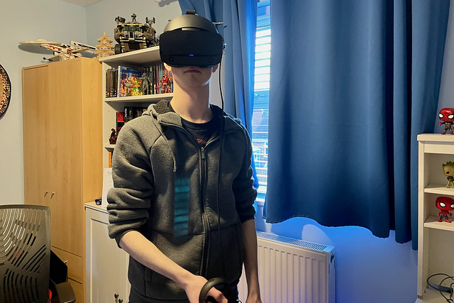 VR gaming is a serious business!