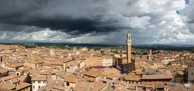 Stormy Siena