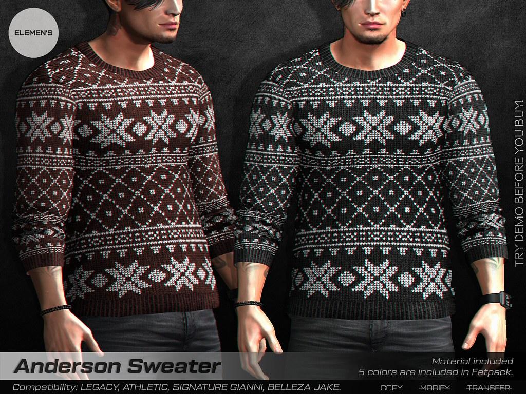 [ELEMEN'S] Anderson Sweater @ Mainstore