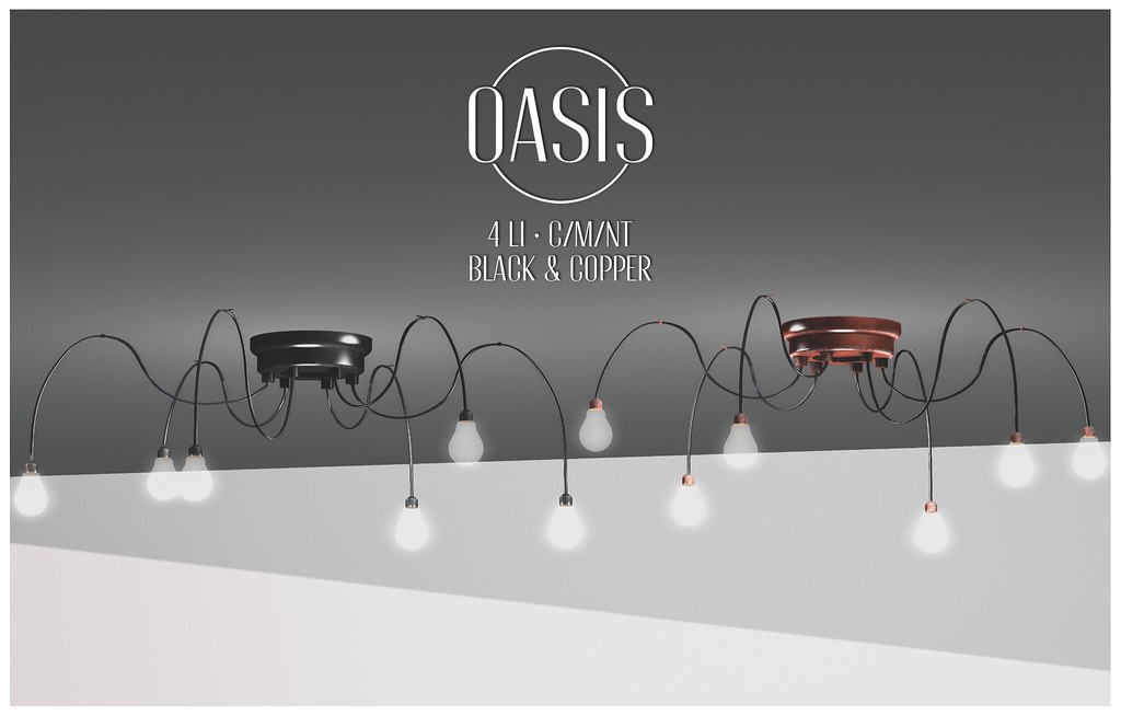 Oasis: Spider Ceiling Lamp