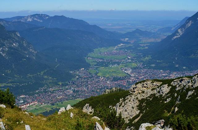 Garmisch-Partenkirchen - From Above