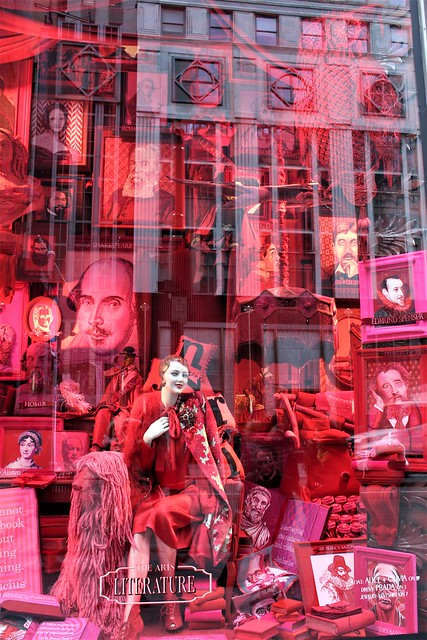 USA - NYC - showcase on 5th avenue