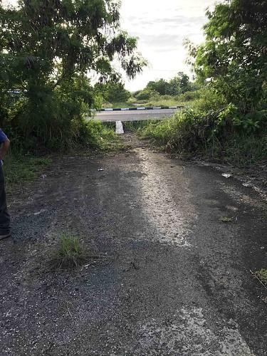 Rest van een van de zeven vliegbanen, Morotai
