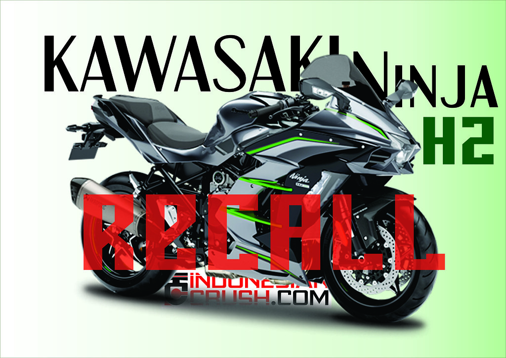 Kawasaki Ninja H2 Recall