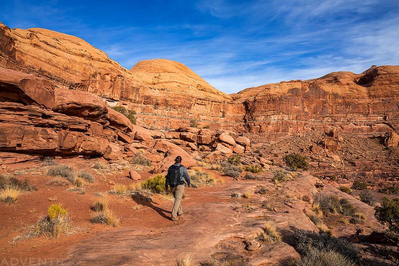 Hunter Canyon Rim Trail