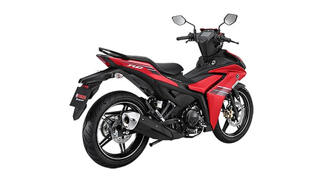 All New Yamaha MX King 155 VVA Red