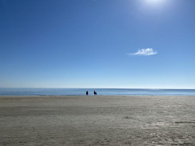 Beach living.