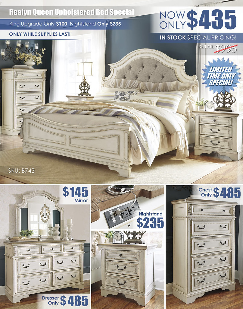 Realyn Queen Upholstered Bed Clearance Super_Special Layout_B743_Updated