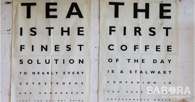 Café o Té Póster