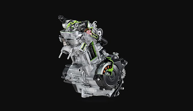 All New Yamaha MX King 155 VVA Engine