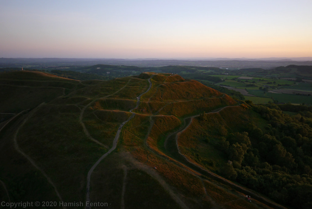 Herefordshire Beacon at Sunset