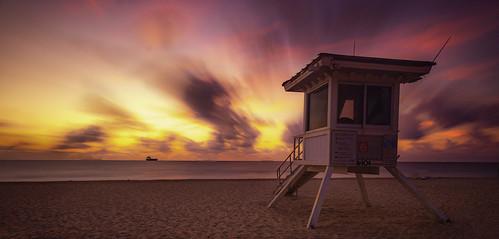 fortlauderdale miami florida beaches longexposure gaurdhouse sunrise lasolas