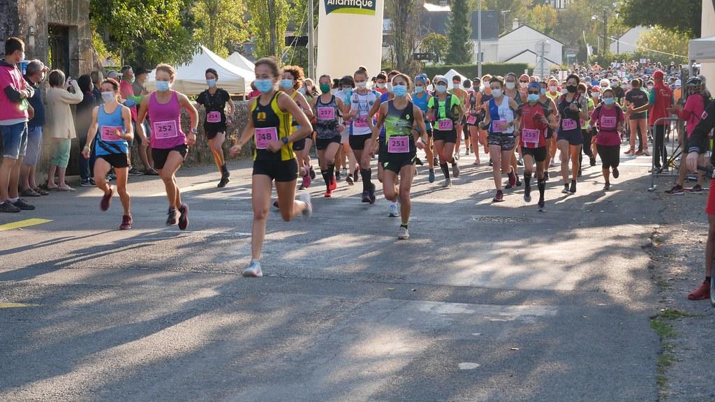 31 em compétition, Dimanche 13 septembre 2020, 10 km du Semi de Varades, 82 em