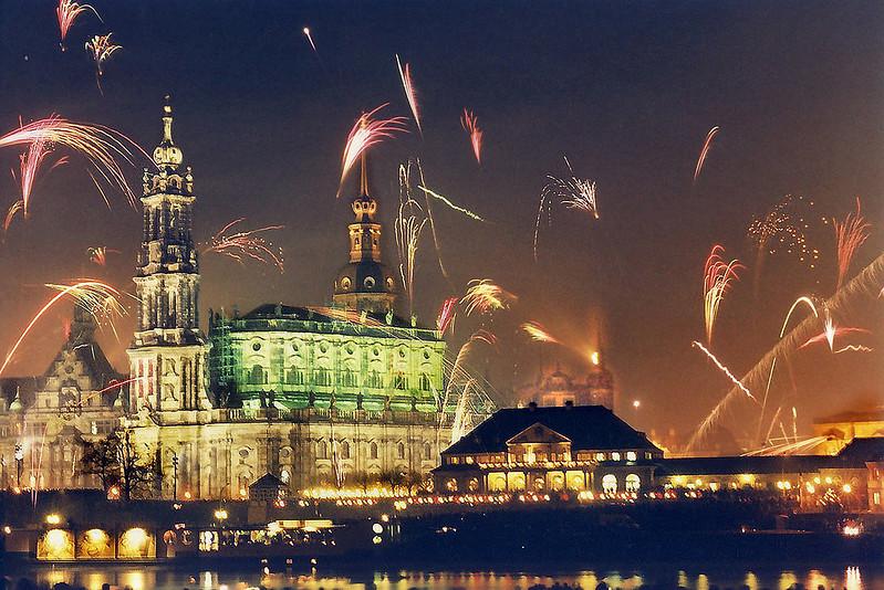 Dresden Silvesterstimmung