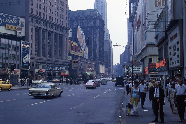 Times Square, NYC 1966