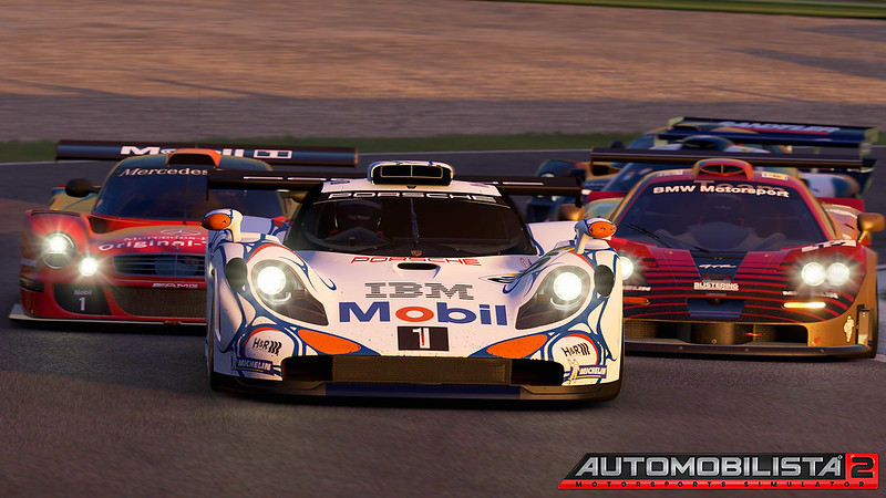 Automobilista 2 GT1 Cars
