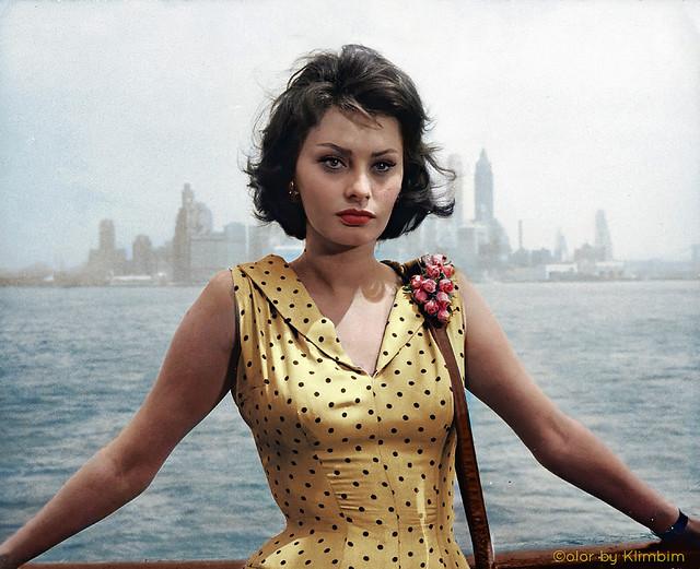 Sophia Loren | София Лорен, 1958