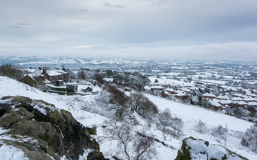 mow cop snow cheshire winter december 2020