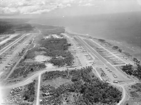Wama vliegbaan, Morotai, april 1945