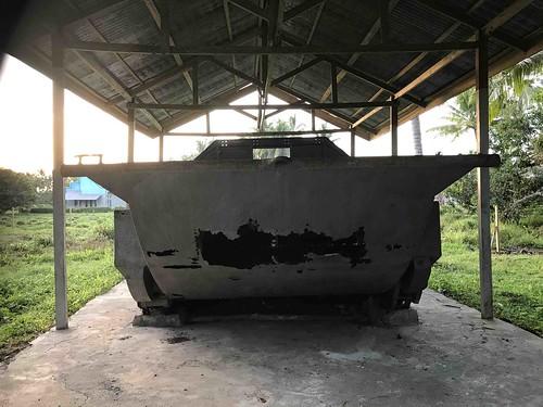 Voorzijde tank