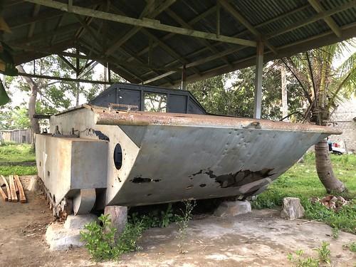 Vooraanzicht tank