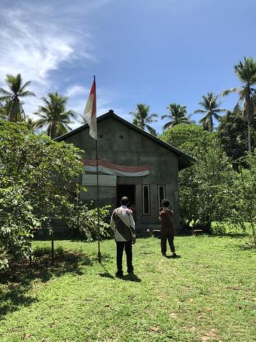 Particulier museum WO2 van de heer Muhli Eso, Morotai.