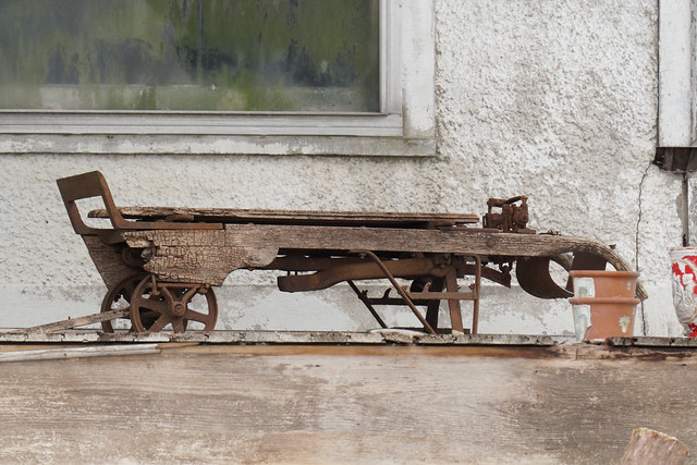 Rusty Old Hand Truck