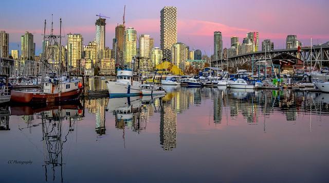 VANCITY REFLECTIONS  -  False Creek Marina - British Columbia