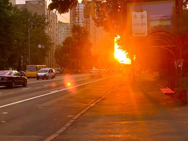 Sunset Kyiv
