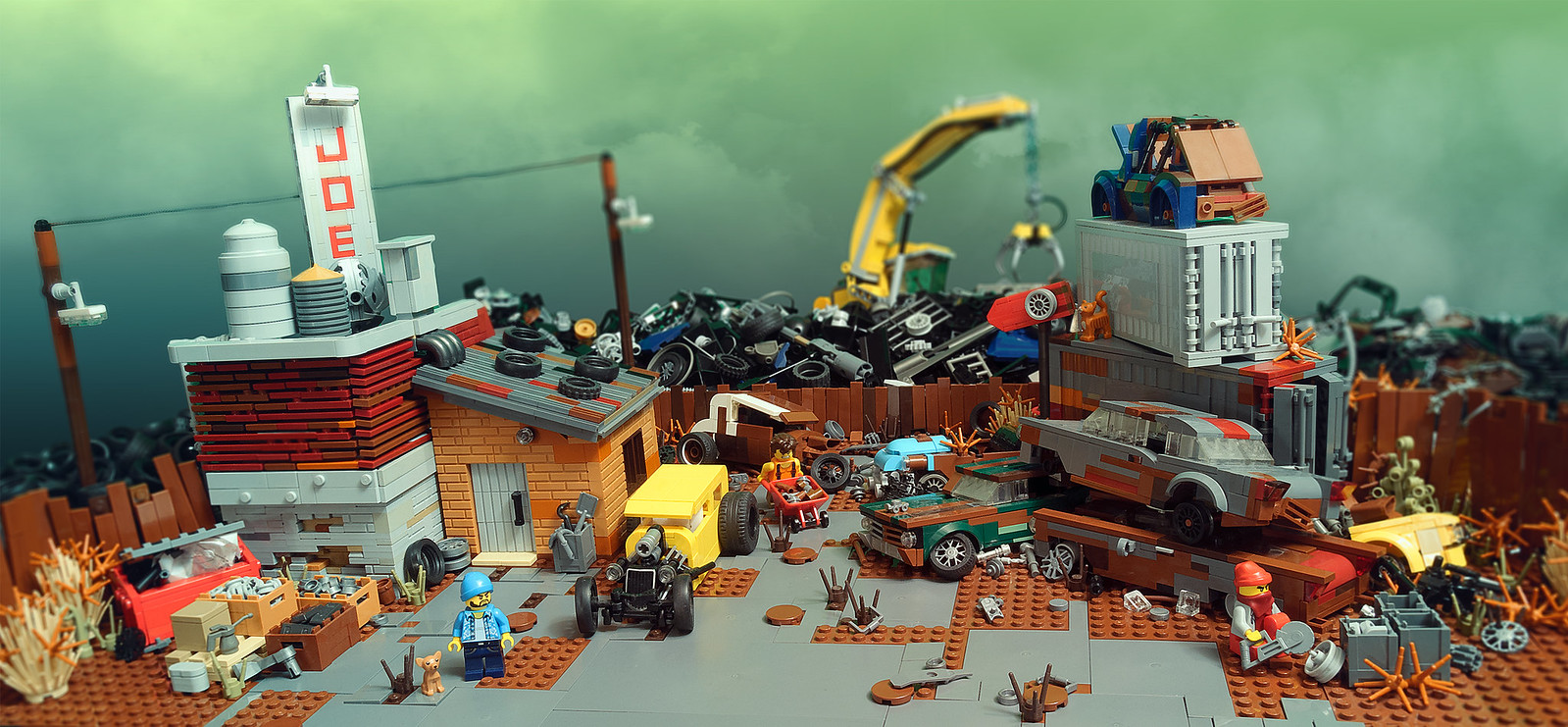 Joe's scrapyard