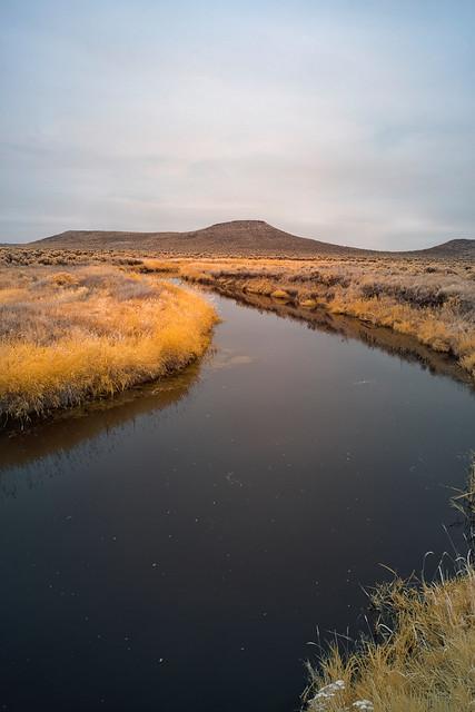 Waterway In Malheur National Wildlife Refuge - Oregon