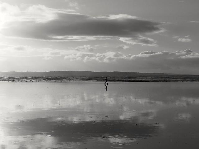 marcher sur le miroir...walking on the mirror