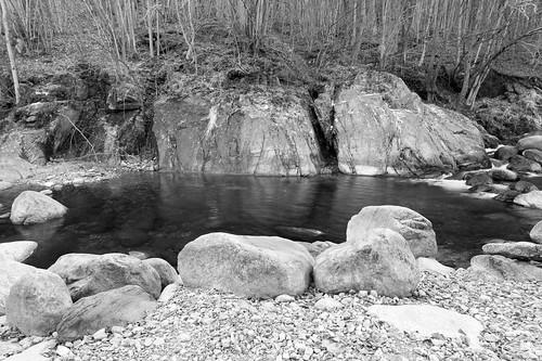Winter stream scene. Best viewed large.
